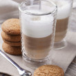 Latte macchiato cafee — Stock Photo