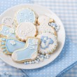 Stock Photo: Baby cookies
