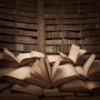 Pile of books — Stockfoto #26027471