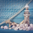 Marine life decoration — Stock Photo #26364085