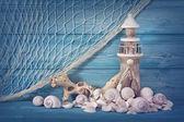 Marine life decoration — Stock Photo
