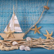 Marine life decoration — Stock Photo #26553213