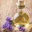 Lavender spa treatment — Stock Photo