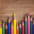 Colorful pencils — Stock Photo #30097349