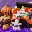 Halloween cookies — Stock Photo #30517423