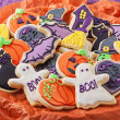 Stock Photo: Halloween cookies