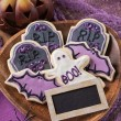 Halloween cookies — Stock Photo #30782823