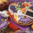 Halloween cookies — Foto de Stock