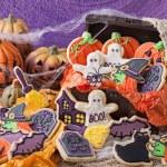 Halloween cookies — Stock Photo #30913333