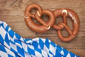 German bretzels — Stock Photo