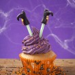Photo: Halloween cupcake