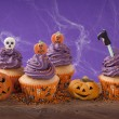 Halloween cupcake — Stock Photo #31275451