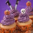Halloween cupcake — Stock Photo #31298625