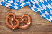 German bretzels — Stock Photo