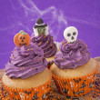 Halloween cupcake — Stock Photo #31774551