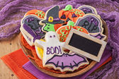 Halloween cookies — Stock Photo