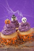 Halloween cupcake — ストック写真