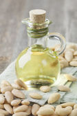 Almonds oil — Stock Photo