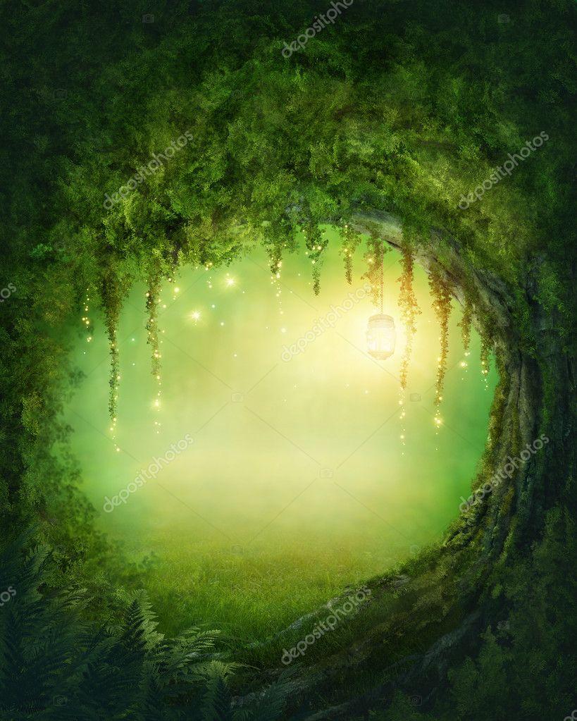 Фотообои Зачарованный лес