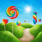 Candy land — Stock Photo