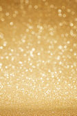 Golden glitter abstract background — Stock Photo