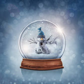 Snow globe — Stock Photo