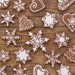 Gingerbread cookies — Stock Photo #35491339