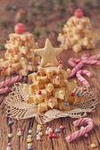 Noel ağacı Pastalar — Stok fotoğraf