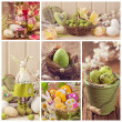 Easter collage — Stock Photo #41246893
