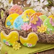 Colorful easter cookies — Stock Photo #41779523