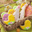 Colorful easter cookies — Stock Photo #41922227