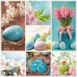 Easter collage — Stock Photo #43425641