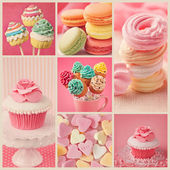 Sweet collage — Stock Photo