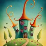 Fantasy castle — Stock Photo