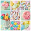 Pastel sweets — Stock Photo