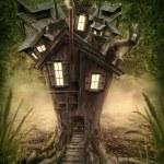 Fantasy tree house — Stock Photo #47341437