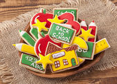 Back to school cookies — Foto Stock
