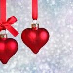Christmas hearts — Stock Photo #6033532
