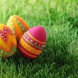 Colorful easter eggs — Stock Photo #8292215