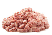 Pile of ham — Stock Photo