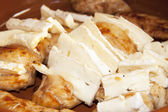 Pollo con formaggio — Foto Stock