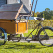 Foto Stock: Old bakery bike