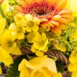 Yellow bouquet — Stock Photo