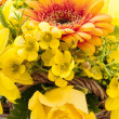 Stock Photo: Yellow bouquet