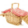 Picnic basket — Stock Photo #27294025