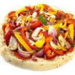 Turkish pizza — Stock Photo