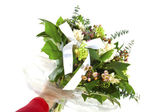 Lovely bouquet for someone special — Stock Photo