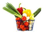野菜バスケット — ストック写真