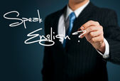 Learning English. — Stock Photo