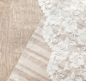 Linen background — Stockfoto